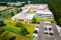 Blick auf die Firma Mainka in Lingen