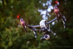 Blick auf meine Drohne Inpire 2