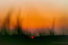 Sonnenuntergang in Lingen-Holthausen