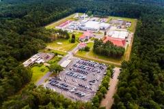 Blick auf die Firma Advanced Nuclear Fuels GmbH