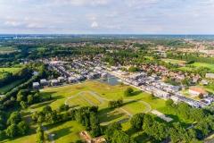 Blick auf den Emsauenpark in Lingen