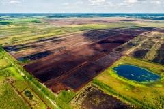 Blick auf die Moorlandschaft in Fuechtenfeld